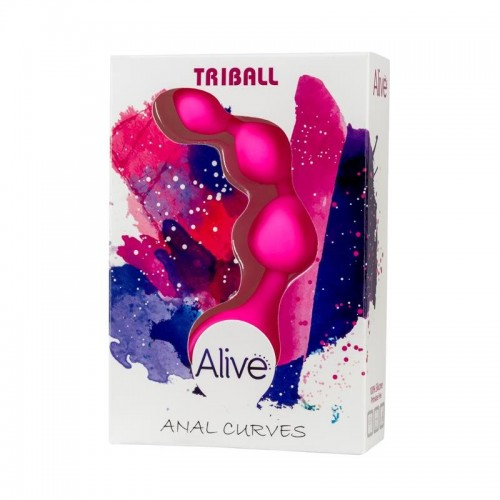 Alive Anal Chain Triball Pink