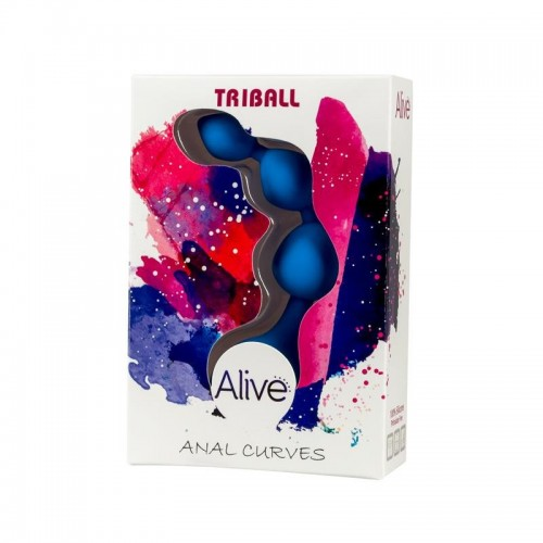 Alive Anal Chain Triball Blue
