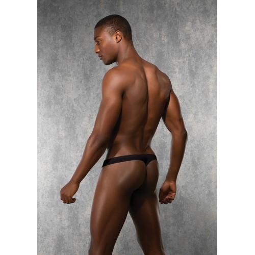 Mens G-string Black