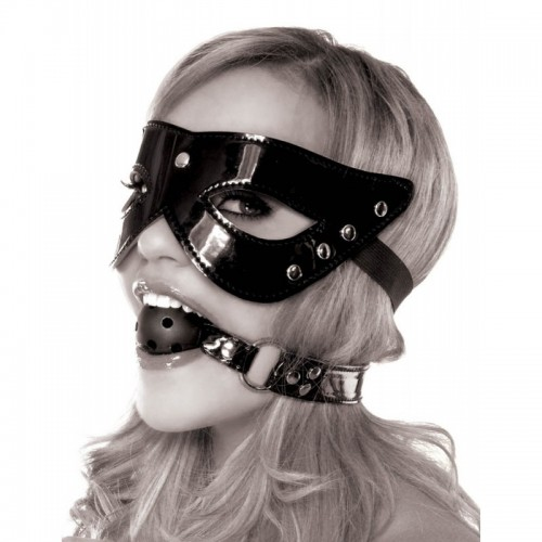 Limited Edition Masquerade Mask & Ball Gag