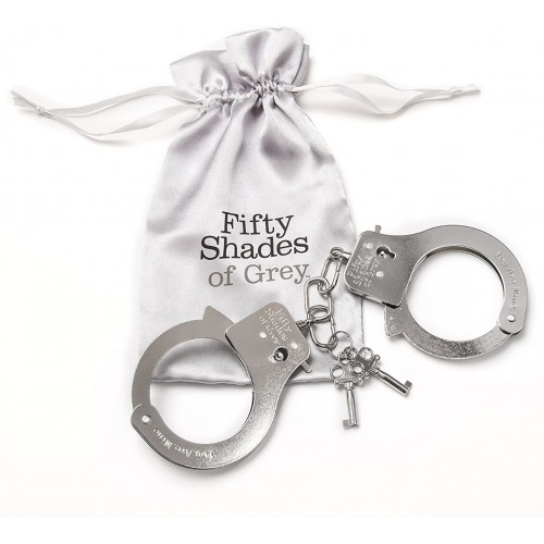 50 Shades Of Grey Metal Handcuffs