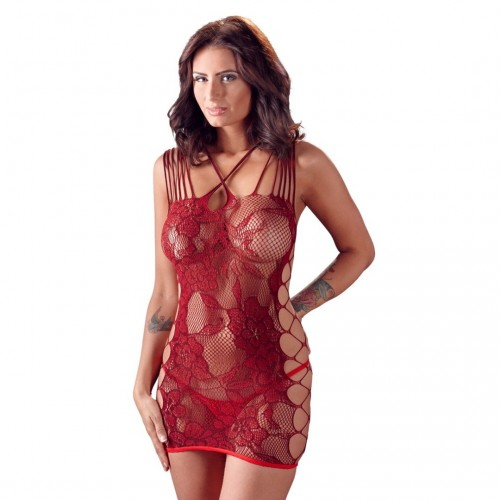 Net Dress Red