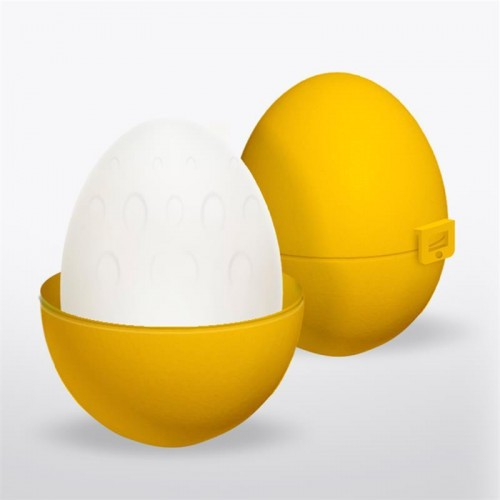 Grovy Mastrubator Egg Silicone Yellow