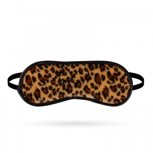 Dark Love Eye Mask - Leopard Print