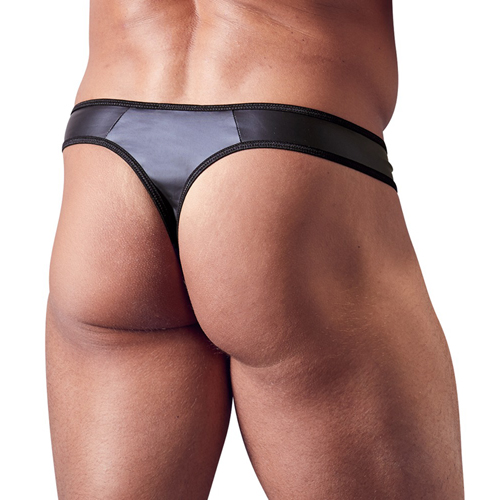 Mens G-string With Zip
