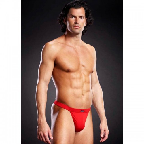 Performance Micro Thong Red