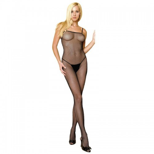 Fishnet Bodystocking Black