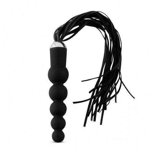 Ribbed Dildo with Flogger