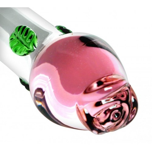 Blooming Vishnu Glass Dildo