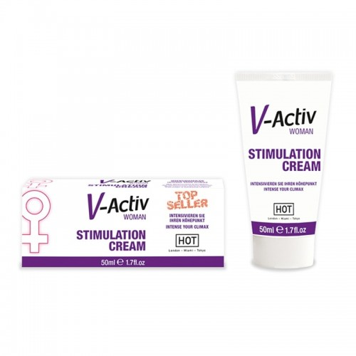 V-Activ Stimulation Cream Wοmen