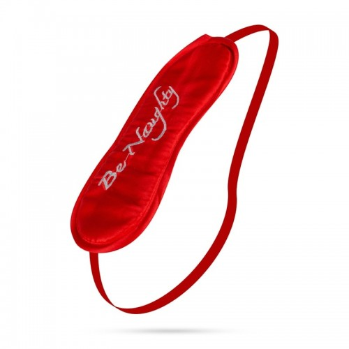 Be Naughty Eye Mask Red